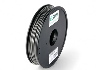 ESUN 3D Printer Filament Silver 3mm ABS 0.5KG Spool