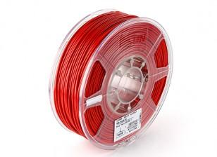 ESUN 3D Printer Filament Red 3mm ABS 1KG Roll