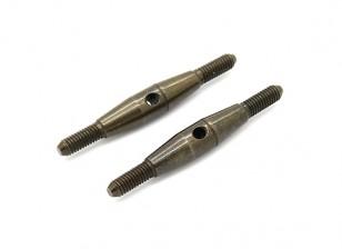 TrackStar 1/10 Spring Steel Turnbuckle M3x35 (2pcs)