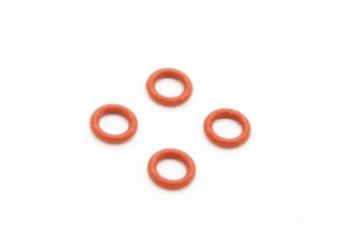 O-Rings (4.8x6mm) - BSR Racing BZ-444 or 444 Pro 1/10 4WD Racing Buggy (4pcs)