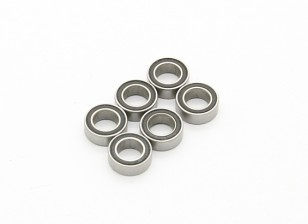 Ball Bearing (4X7X2.5) - BSR Racing BZ-444 or 444 Pro 1/10 4WD Racing Buggy (6pcs)