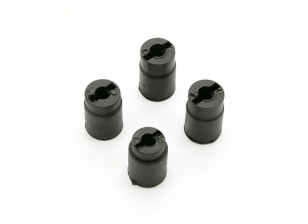 Plastic Connector Cup (4pcs) - BSR Racing BZ-444 1/10 4WD Racing Buggy