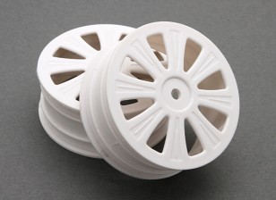 Front Wheel (2pcs) - BSR Racing BZ-444 1/10 4WD Racing Buggy