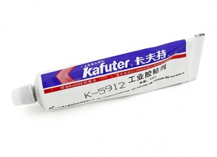 Kafuter K-5912 Industrial Strength Multi-Purpose Adhesive (Black)