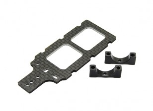 Carbon FPV Transmitter Mount with 12mm Boom Clamp