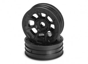 JCONCEPTS Hazard 1/10th Buggy Front Rim - Black
