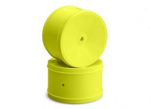 JCONCEPTS Bullet 1/10th Offroad 12mm Hex Rear Rim - Yellow
