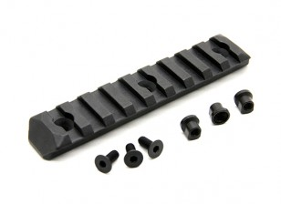 PTS Enhanced Rail Section Keymod 9 Slots (Black)