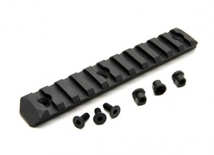 PTS Enhanced Rail Section Keymod 11 Slots( Black)