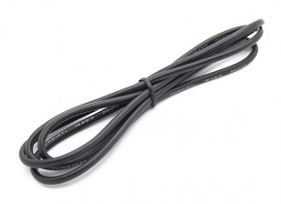 Turnigy High Quality 16AWG Silicone Wire 1m (Black)