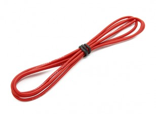 Turnigy High Quality 20AWG Silicone Wire 1m (Red)