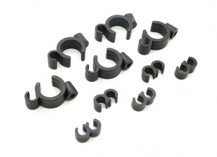 Fuel Filter / Line Mounting Clips (5 Sets)