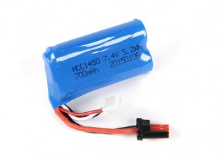 FT007 Vitality V-Hull Racing Boat 360mm Replacement 7.4V 700mAH LiPoly Battery