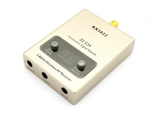 RX-5822 5.8GHz 32CH Wireless A/V Receiver with A/V and Power Cables