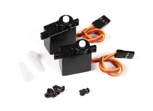 FX071C 2.4GHz 4CH Flybarless RC Helicopter Replacement Servo (2pcs)