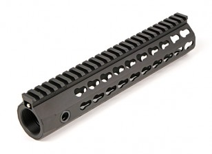 """Knights's Armament Airsoft URX4 10"""" forend handguard for Airsoft (Black)"""