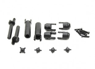 Center Drive Shaft (1pair) - OH35P01 1/35 Rock Crawler Kit