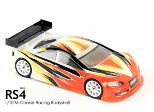 BLITZ Mini RS4 Race Body (210mm) (0.8mm)