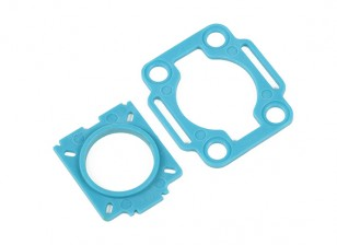HobbyKing™ Color 250 Mobius / COMS Mounting Plates (Blue)
