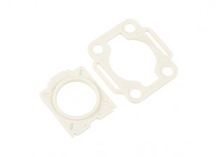 HobbyKing™ Color 250 Mobius / COMS Mounting plates (White)