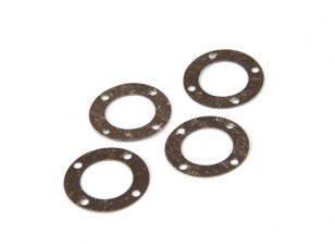 BSR Berserker 1/8 Electric Truggy - Diff. Gasket 813141 (4pcs)