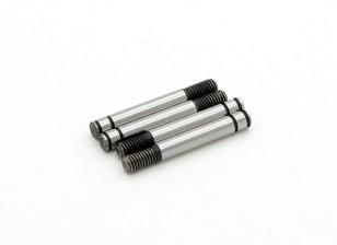 TrackStar Hardened Shock Shaft 3.2x 24mm (4) S122024