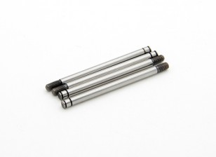 TrackStar Hardened Shock Shaft 3.2 x 48mm (4) S162048