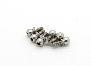 TrackStar Universal Ball End 5.8mm H2.0 6mm Thread (6 Pack) S025806