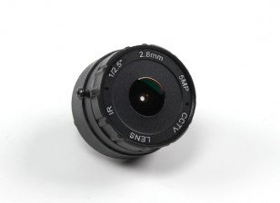 "2.8mm IR Board Lens F2.0 CCD Size 1/2.5"" 156° Angle w/Mount"