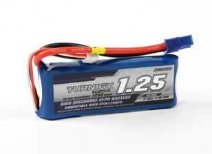 Turnigy 1250mAh 2S 20C LiPoly Pack w/ EC3 (E-flite Compatible EFLB12502S)