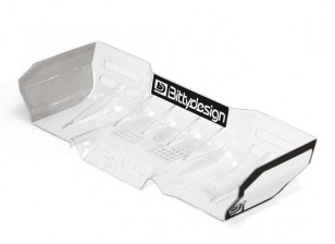 Bittydesign Zefirus Lexan Wing for all 1/8 Buggy/Truggy (Clear)