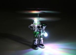 RC Flying Robot with Transmitter and USB Charging Lead