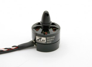 Black Widow 2206 2000KV With Built-In ESC CCW