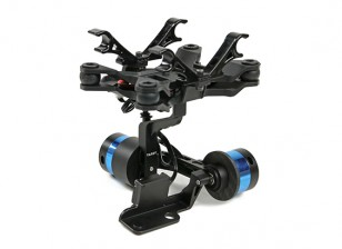 Tarot T-2D V2 Xiaomi Yi Sports Camera Brushless Camera Gimbal and  ZYX22 Controller