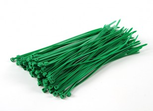 Cable Ties 150mm x 3mm Green (100pcs)