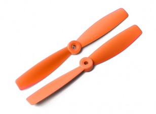 DYS Bull Nose Plastic Propellers T6045 (CW/CCW) (Orange) (2pcs)