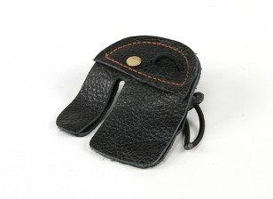 Leather Finger Tab - Adult 3.3""