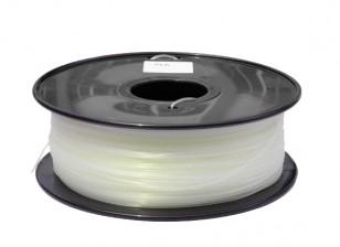 HobbyKing 3D Printer Filament 1.75mm PLA 1KG Spool (Glow in the Dark - Green)