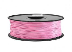 HobbyKing 3D Printer Filament 1.75mm ABS 1KG Spool (Pink P.1905C)