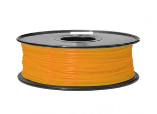 HobbyKing 3D Printer Filament 1.75mm ABS 1KG Spool (Translucent Orange)
