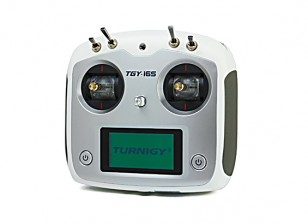 Turnigy TGY-i6S Digital Proportional Radio Control System (Mode 1) (White)