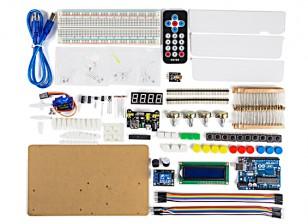 Arduino Intermediate Kit with IR Remote Control and Sound