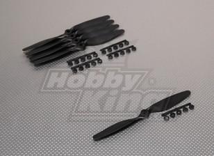 GWS Style Slowfly Propeller 7x4 Black (CCW) (5pcs)