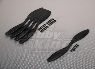 GWS Style Slowfly Propeller 11x4.7 Black (CCW) (5pcs)