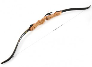 "Laminated Wood Take-Down Recurve Bow 66""/24 lbs R/H"