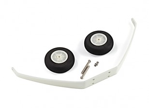 Avios Zazzy - Main Landing Gear Assembly w/Wheels/Screws