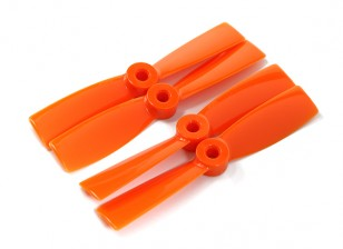DYS T4045-O 4x4.5 CW/CCW (pair)  - 2 pairs/pack Orange