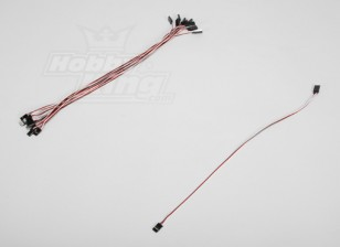 40CM Servo Lead (Futaba) 32AWG Ultra Light (10pcs/set)