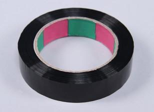 Wing Tape 45mic x 24mm x 100m (Narrow - Black)