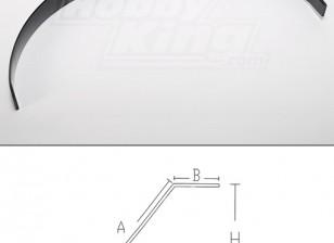 Carbon Fiber landing gear (50cc size)